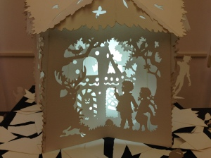 Fiabe dalla foresta Paper cutting