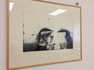 Faceprint, vernis mou 2014 Puntasecca cm 33x50